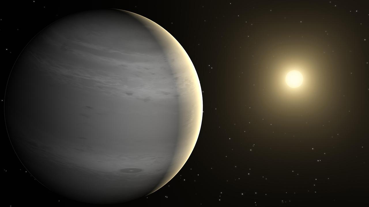 Salah satu planet temuan satelit NASA TESS, GJ 414 A c
