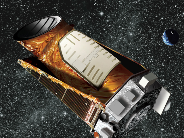 Artist's impression of the Kepler Spacecraft