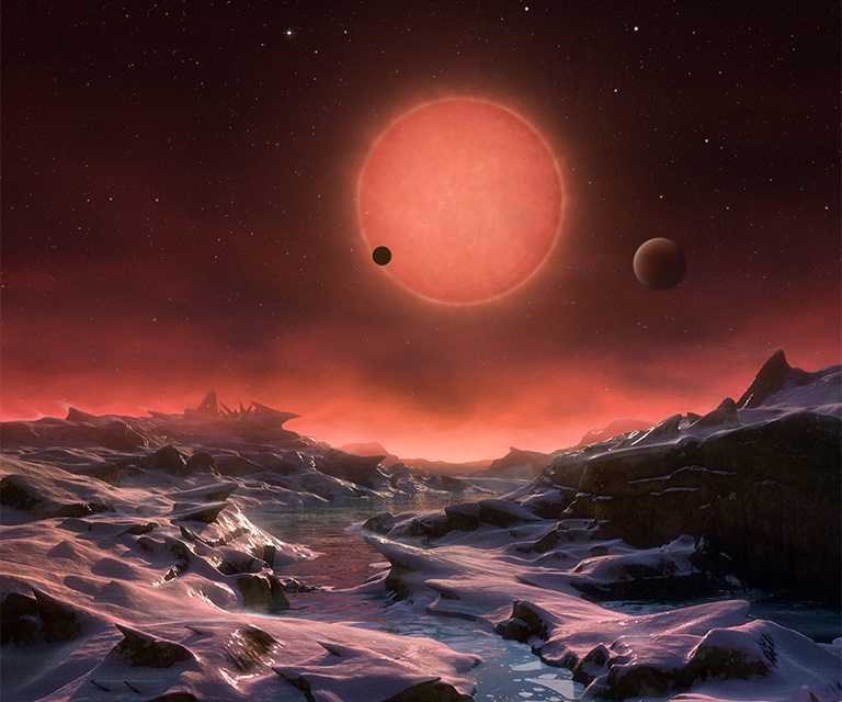 Hubble TRAPPIST atmospheres