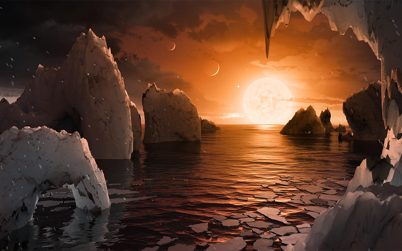 Surface TRAPPIST-1