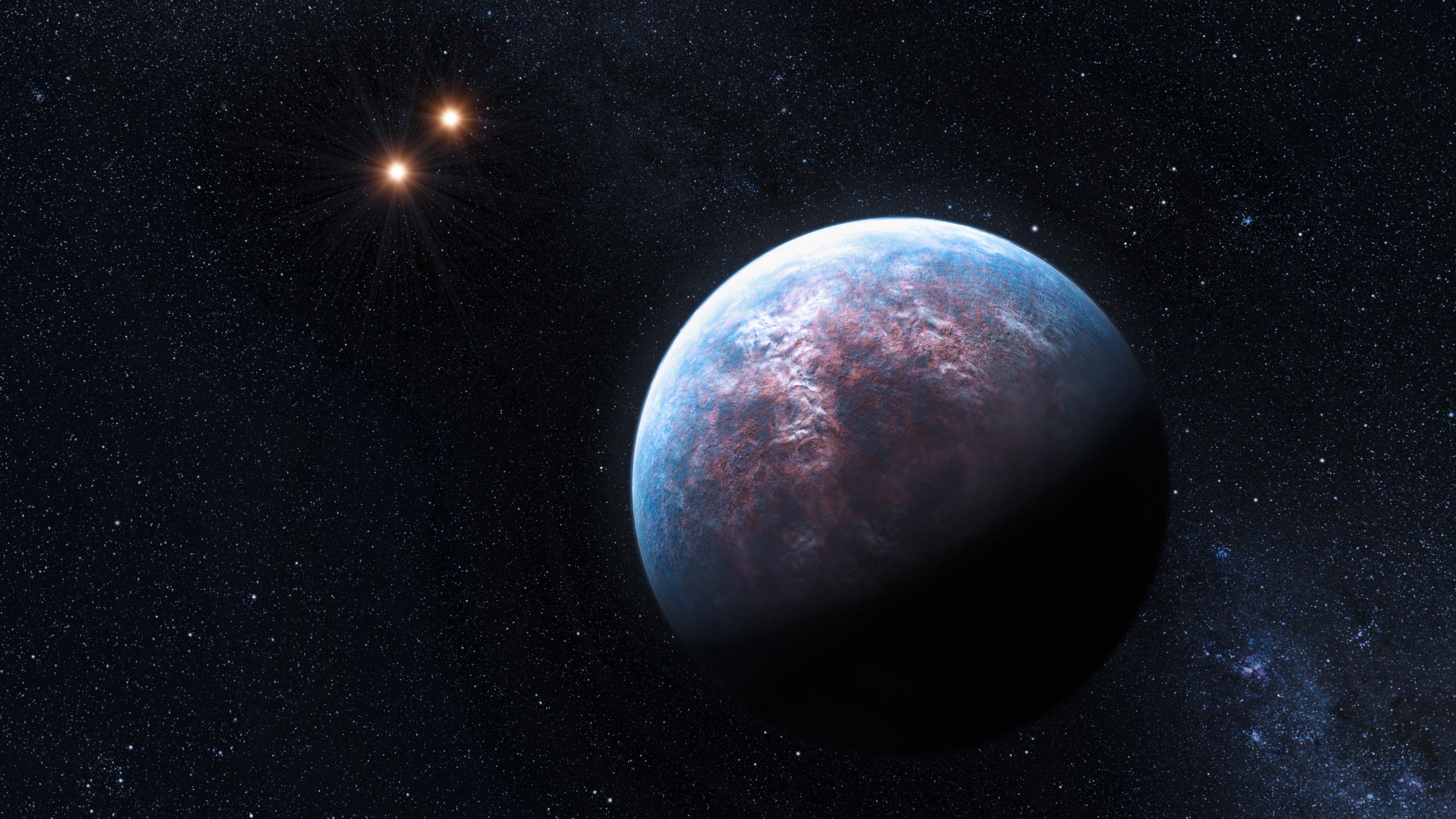 New Inhabited Planet Esoa