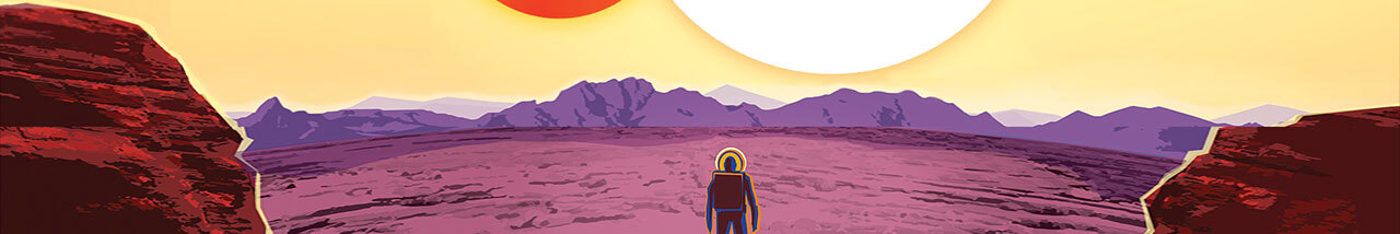 Image taken from the Kepler-16b travel poster