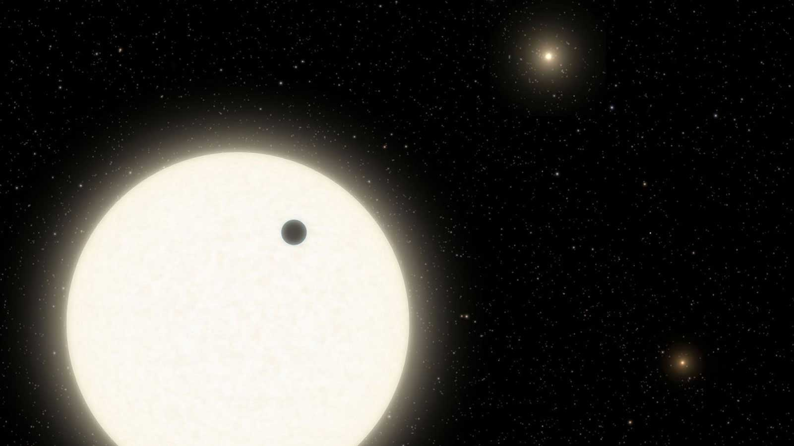 slide 2 - Discovery Alert: A Forgotten Planet Found in a Triple-Star System