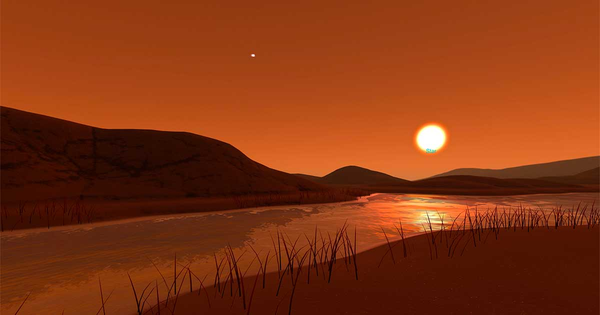 Explore the Surface - Kepler 186f | Exoplanet Travel