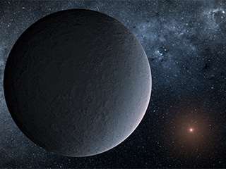 'Iceball' planet mass of Earth discovered
