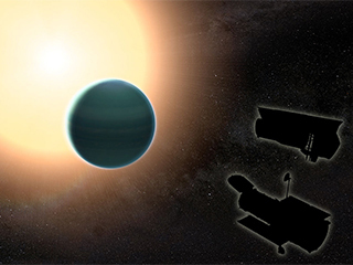 'Warm neptune' has unexpectedly primitive atmosphere