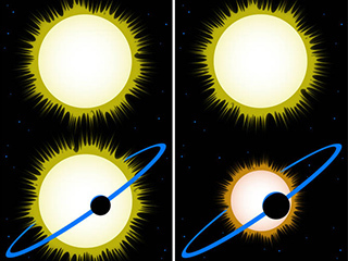 Hidden stars may make planets appear smaller