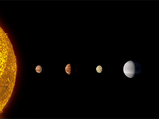 Discovery of eight planets makes alien system the first to tie with our solar system