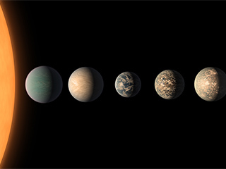 New clues to compositions of TRAPPIST-1 planets