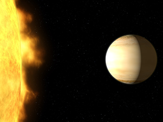 NASA finds a large amount of water in an exoplanet's atmosphere