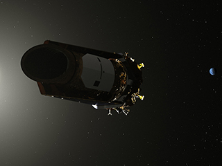NASA will give an update on the Kepler space telescope today