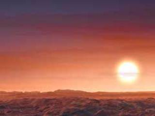 Discovery Alert: Rocky Planet Swelters Under Three Red Suns