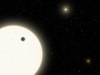 Discovery Alert: A Forgotten Planet Found in a Triple-Star System