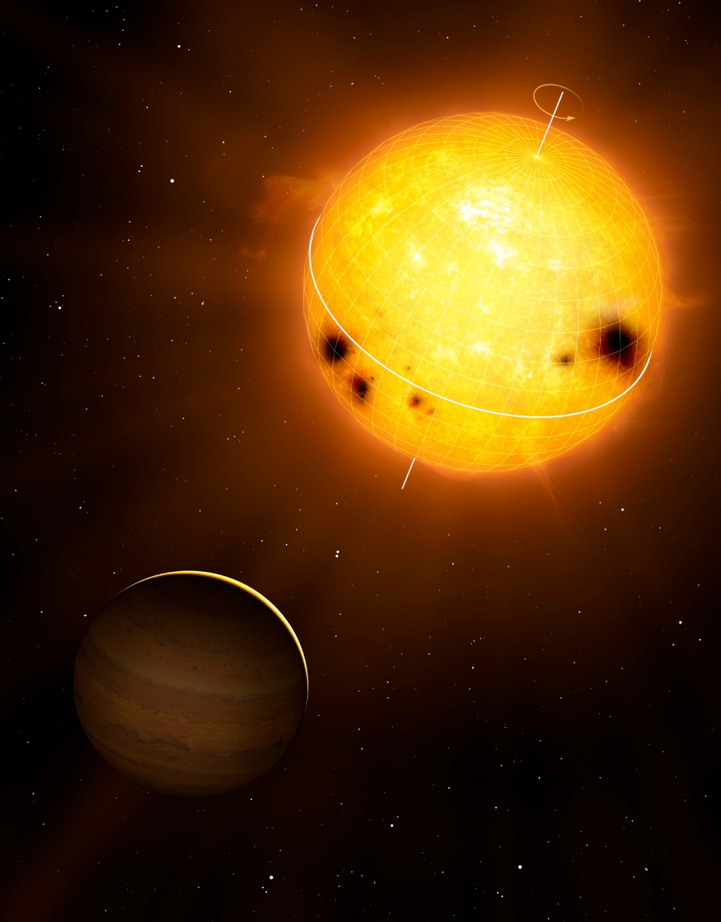 star orbiting the sun - photo #20