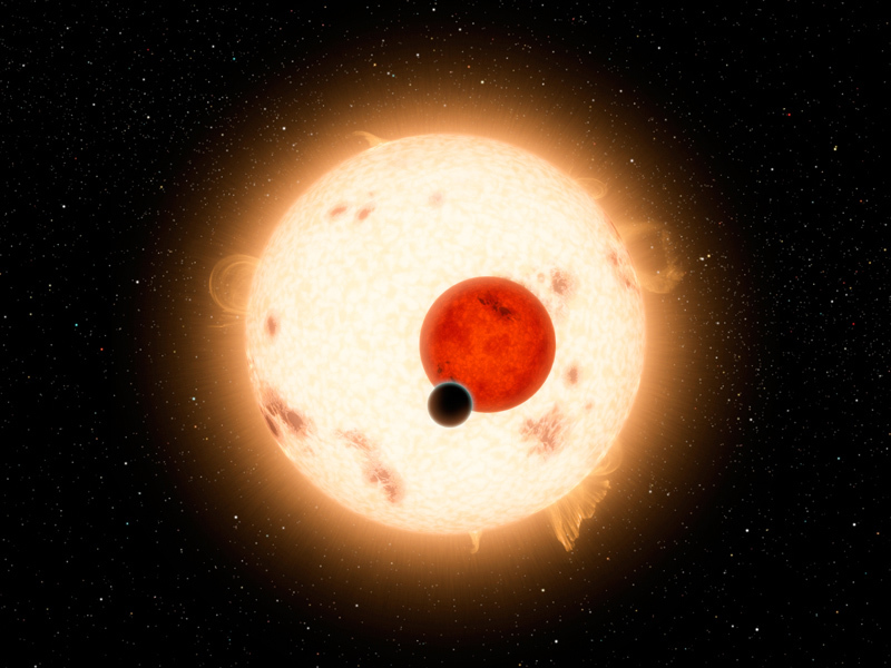 Astronomers have found a clever new way to slice and dice the flickering light from a distant star in a way that reveals the strength of gravity at its surface. The new technique can also be used to significantly improve estimates of the sizes of the hundreds of exoplanets that have been discovered in the last 20 years. Current estimates have uncertainties ranging from 50 percent to 200 percent. Using the improved figures for the surface gravity of the host stars calculated by the new method should cut these uncertainties at least in half.