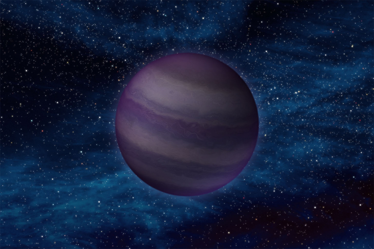 Illustration of a brown dwarf.