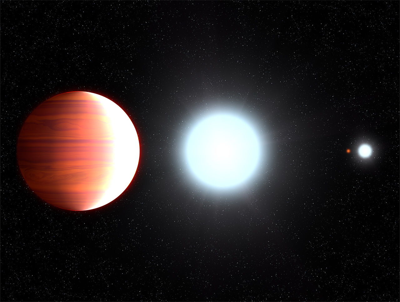 Hubble observes exoplanet that snows sunscreen – Exoplanet ...