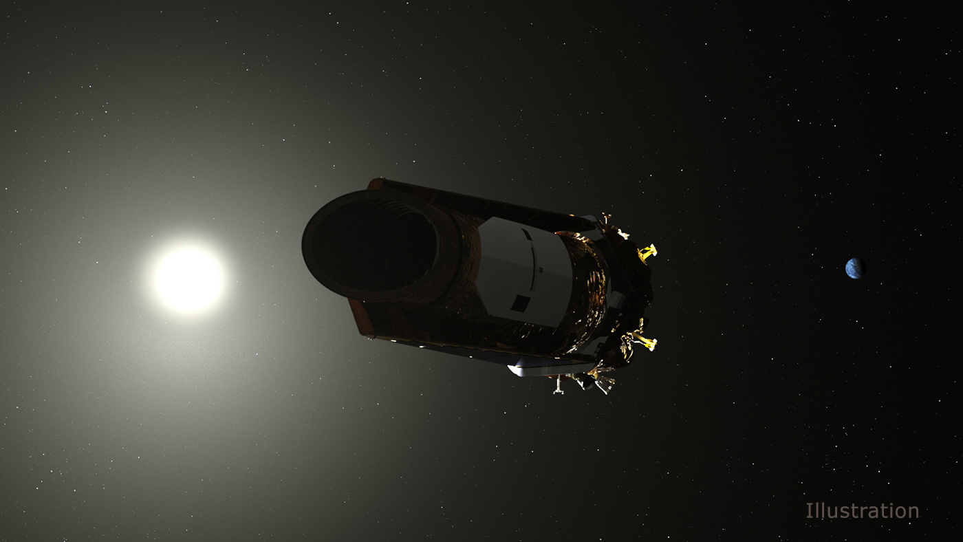 Illustration of NASA's Kepler space telescope
