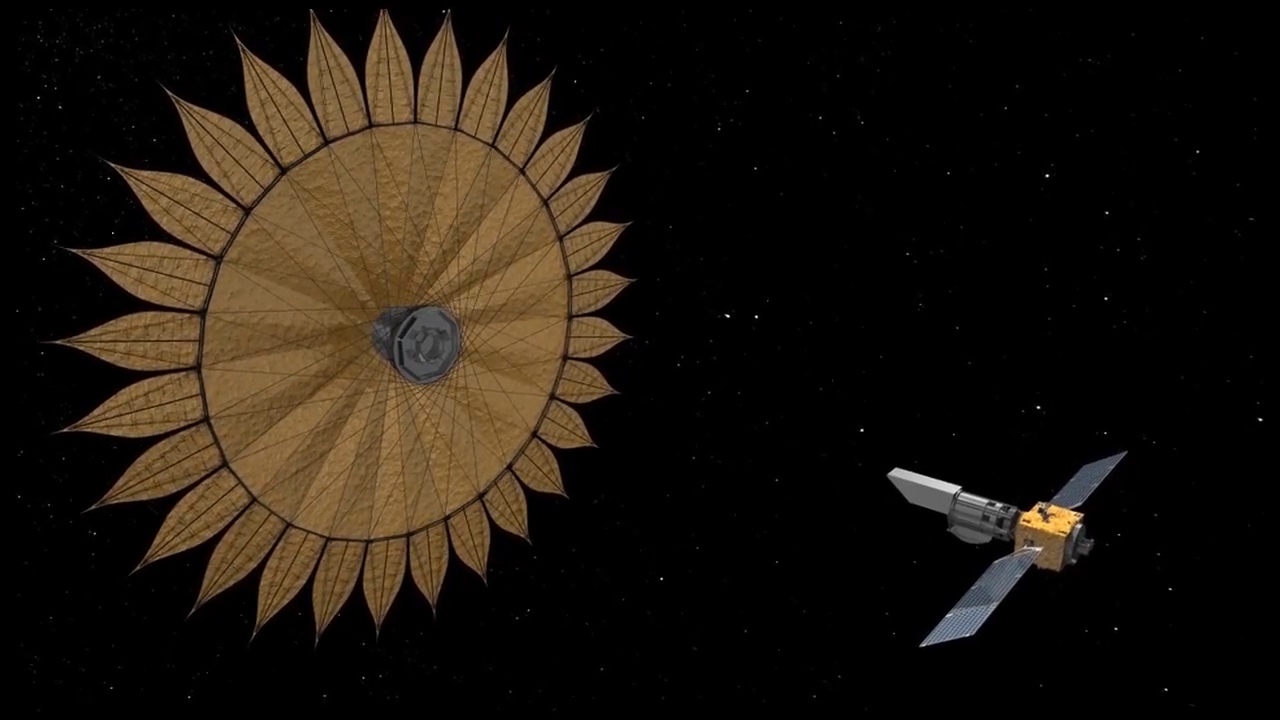 Starshade Would Take Formation Flying to Extremes