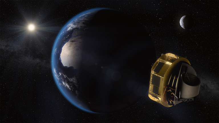 Artist's image of European ARIEL spacecraft
