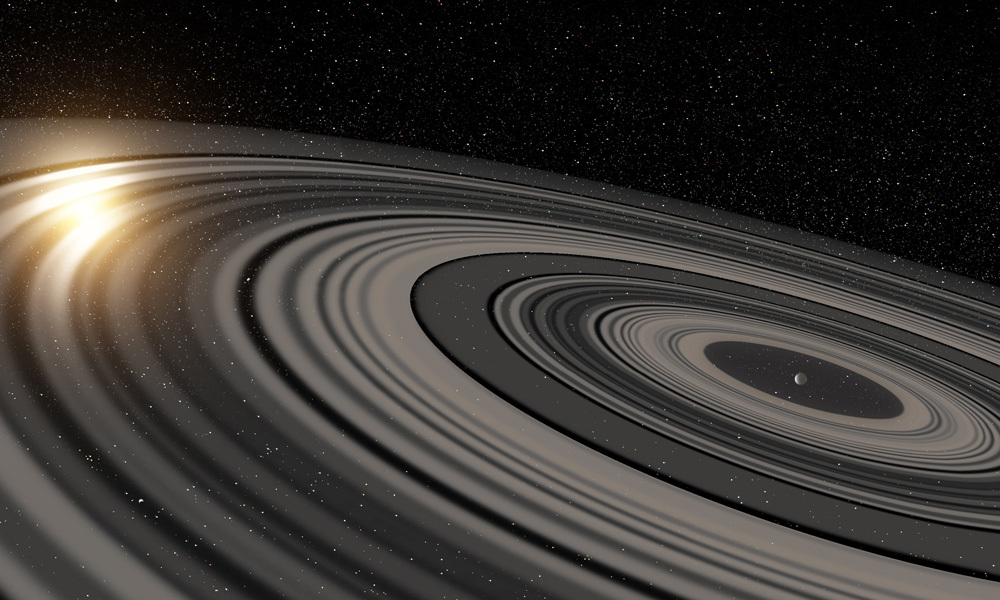 Super-Saturn: astronomers find a massive ring system around an exoplanet