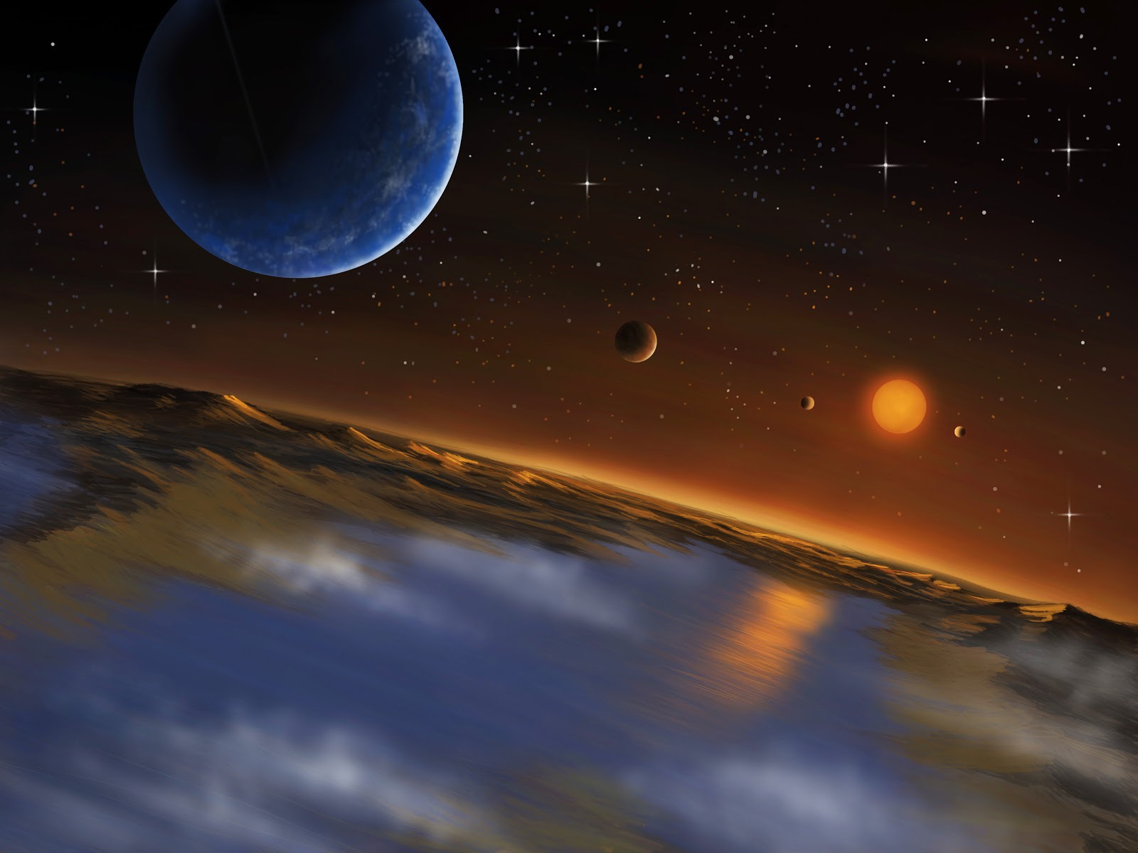 exo in the solar system planets - photo #39