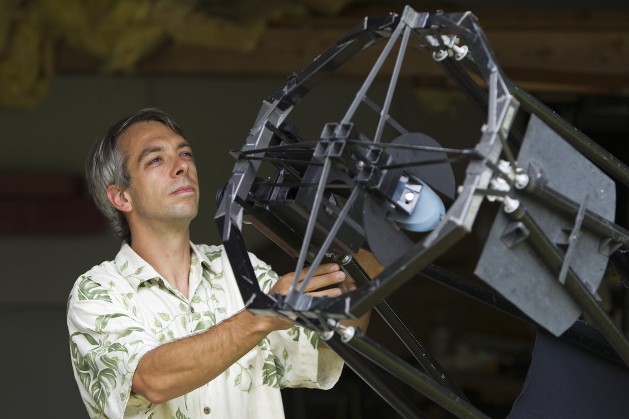 JPL Astronomer Olivier Guyon hopes that the technology he's working on today could help take pictures of faraway, Earth-size planets in the future.