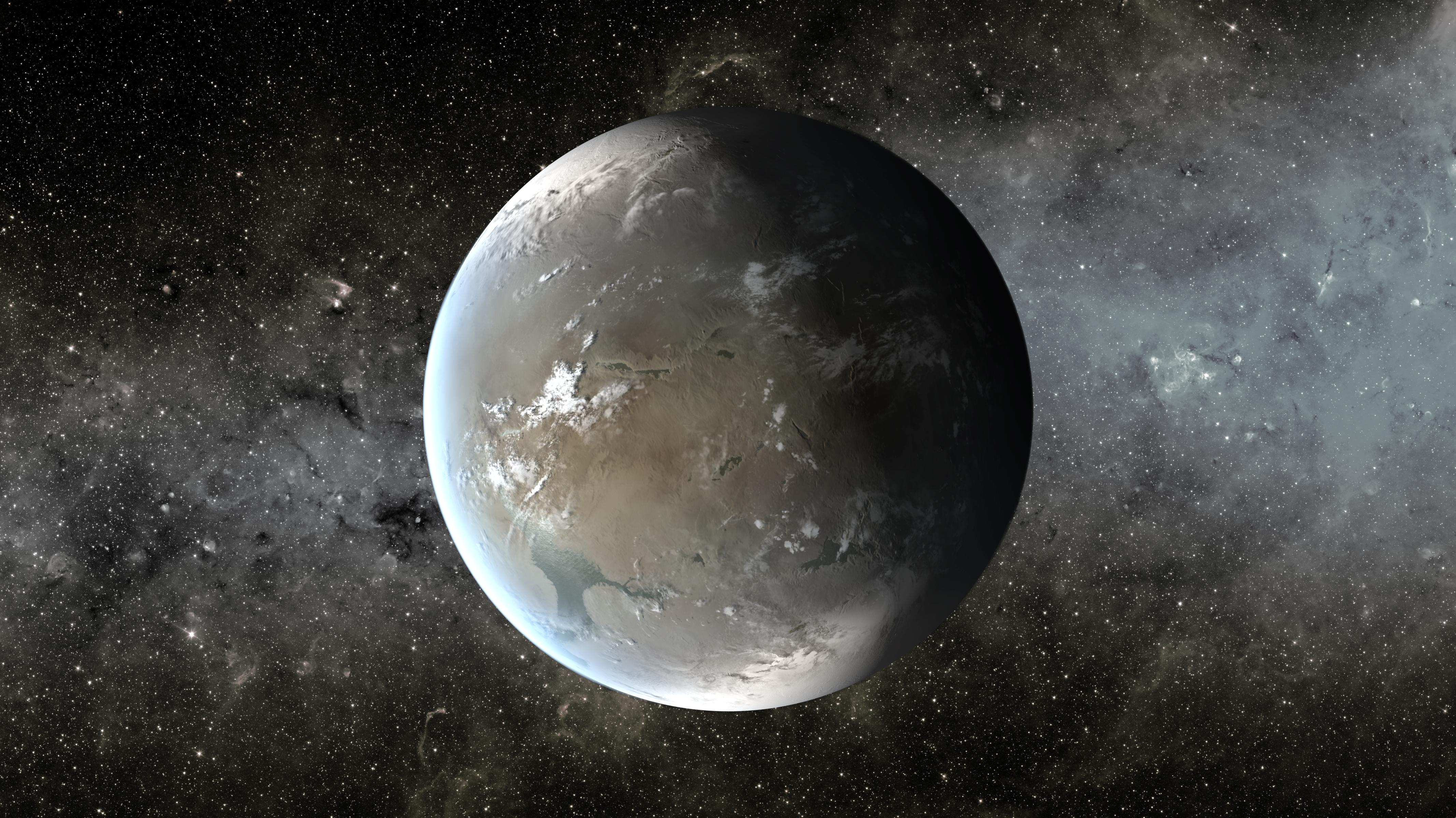 Kepler-62f, a Small Habitable Zone World (Artist Concept) – Exoplanet Exploration: Planets Beyond our Solar System