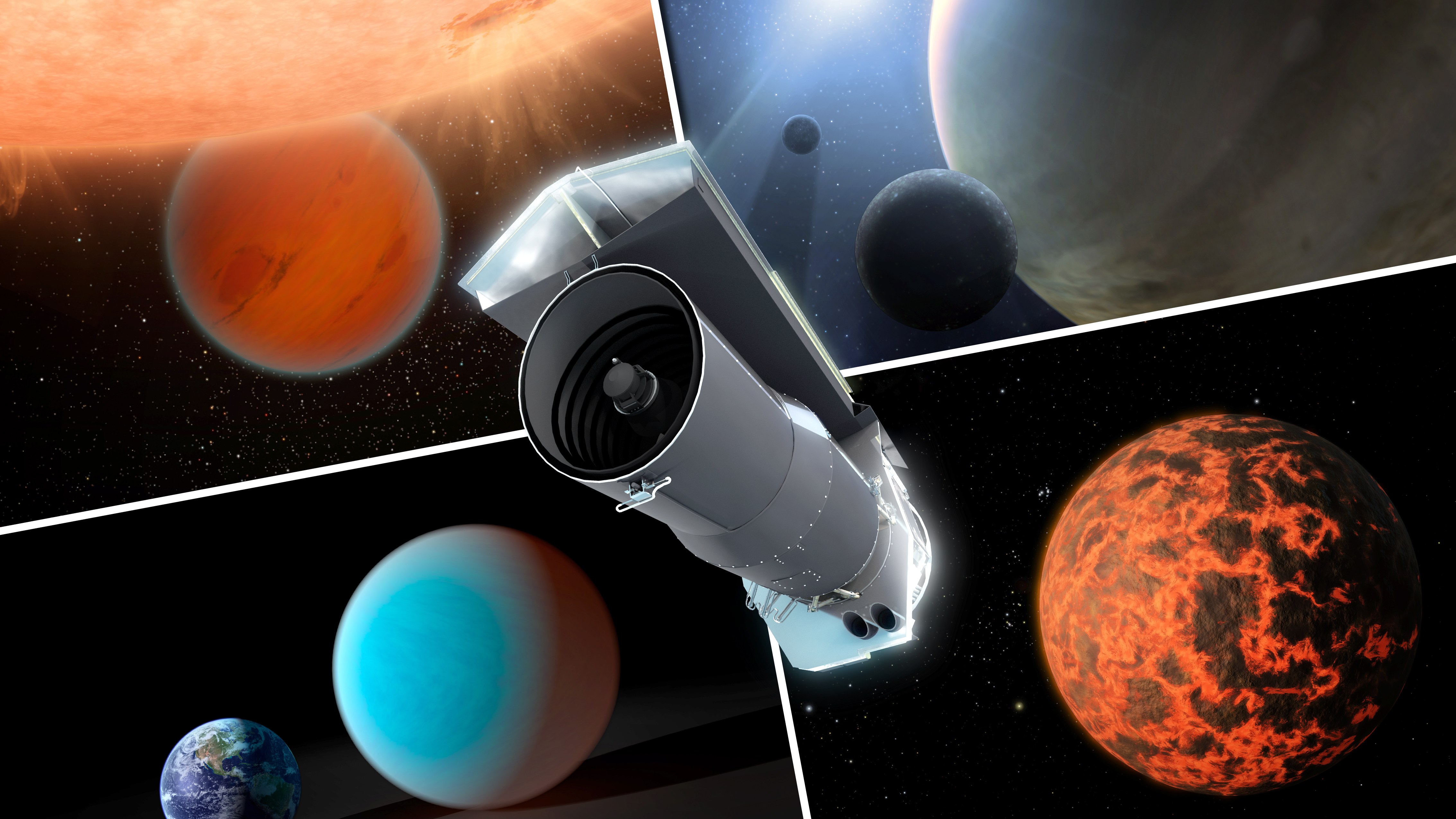 Spitzer: 10 years of surprises