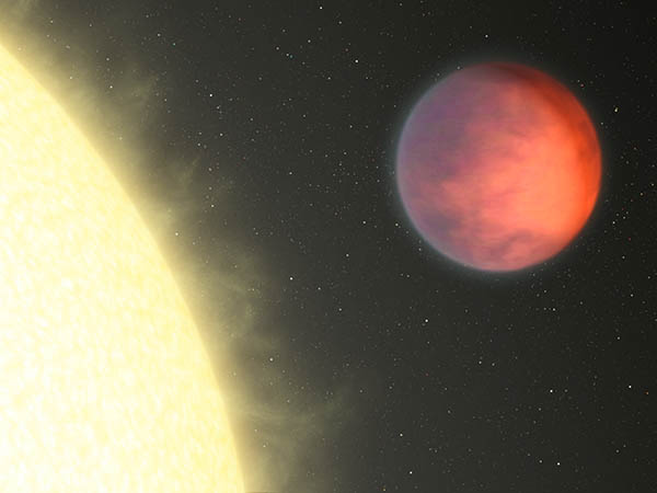 Planetary Hot Spot Not Under the Glare of Star