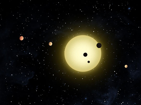 Extraordinary New Planetary System