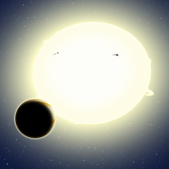"""Einstein's Planet,"" Kepler-76b"