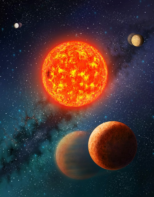 A Mars-size Exoplanet