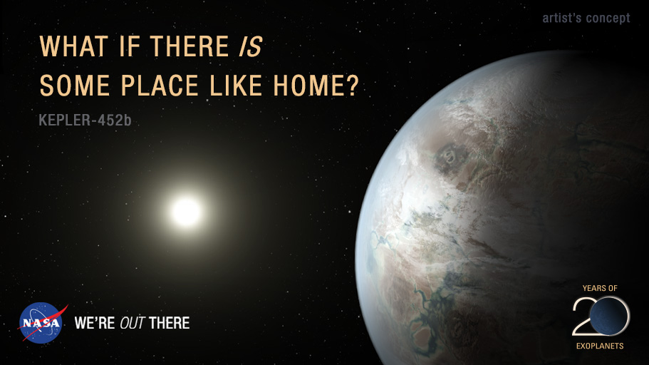What if there is some place like home?