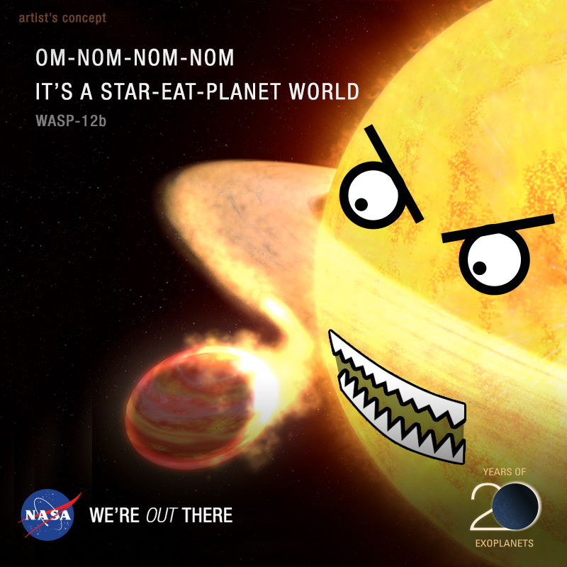 It's a Star-Eat-Planet World